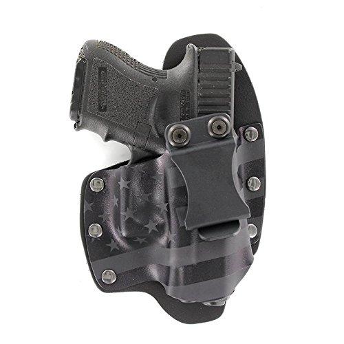 Stealth Black USA IWB Hybrid Concealed Carry Holster Left-Hand Taurus G2C