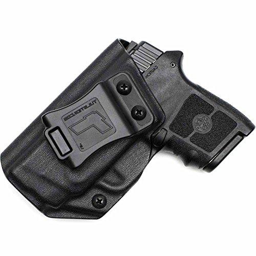 M&P Bodyguard 380 Holster - Tulster IWB Profile Holster Black - Left Hand