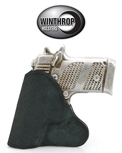 S&W Bodyguard 380 with Insight Laser Pocket Gun Holster Black - 0288