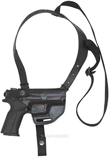 Ruger LC9s Leather Horizontal Shoulder Holster