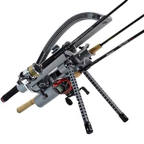Rod-Runner Fishing Rod Rack - Express 3 Fishing Rod Carrier - Gray