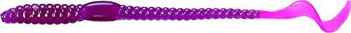 Mister Twister 6-Inch Phenom Worms-Pack of 20 PurpleFiretiger
