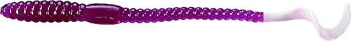 Mister Twister 6P20-41 Mr Twister Phenom 6-Inch PurpleWhite Tl 20-Pack