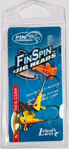 Fin Commander 17012 Fin Spin Jig Head 2 Piece Pack 116 oz