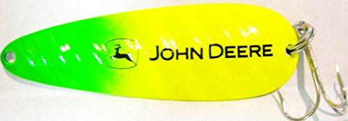 John Deere Casting 5 Metal Spoon Fishing Lure Bait