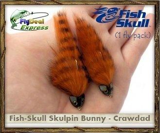 FISH-SKULL SKULPIN BUNNY CRAWDAD - Streamer 1-fly