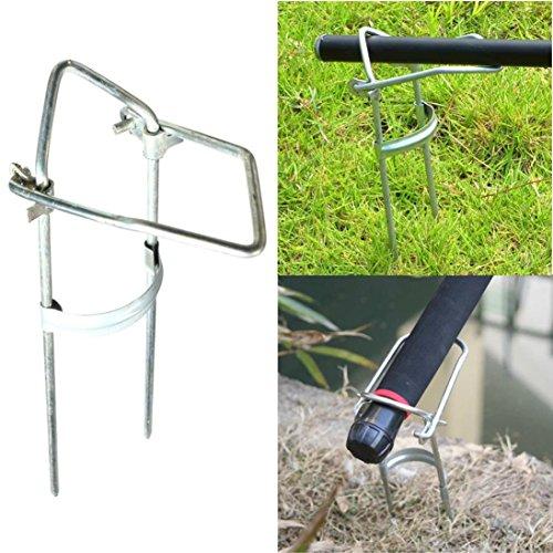 DZT1968 Adjustable Bracket Fishing Rod Pole Stand Holder Fishing Tool