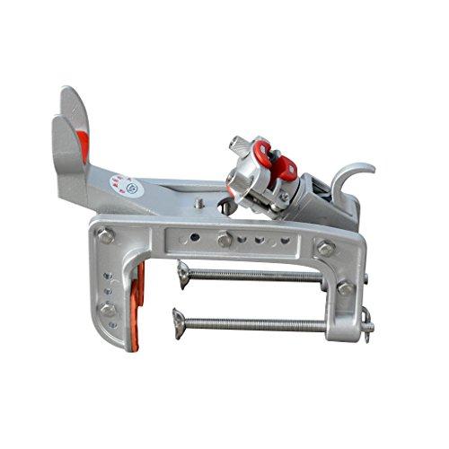 Jili Online Angle Adjustable Fishing Rod Bracket Holder Quick Release Clamp 28-132cm