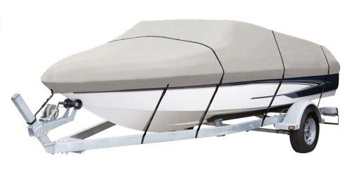 Pyle Armor Shield Trailer Guard V-Hull Fishing Boat Cover 14-16-Feet x 75-Inch