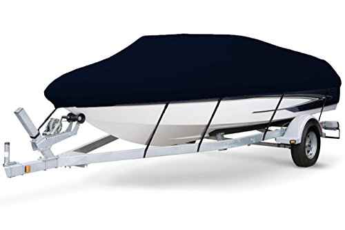 7oz Solution Dyed Polyester Styled to FIT Boat Cover for Aluminum Fishing Boat 206-216 102 Beam Width WHIGH WS Mounted Forward OB