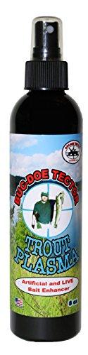 Trout Bait Fishing Attractant - 8oz Trout Plasma by Buck Nut Deer ScentsBuc-Doe Tector - Make each cast count