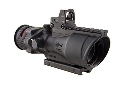 Trijicon TA648RMR-308 ACOG 6x48 Machine Gun Optic Dual Illuminated Red Chevron 308 Ballistic Reticle M1913 Rail 65 MOA RMR Sight