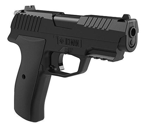 Crosman CCICE7B Iceman CO2 Semi-Auto BBPellet Pistol
