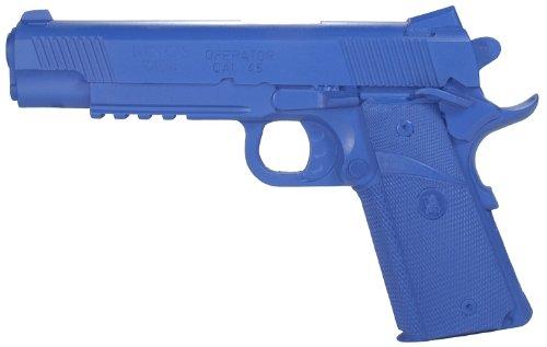 Rings Blue Guns Springfield Operator 1911-A1 5-Inch Blue Training Gun
