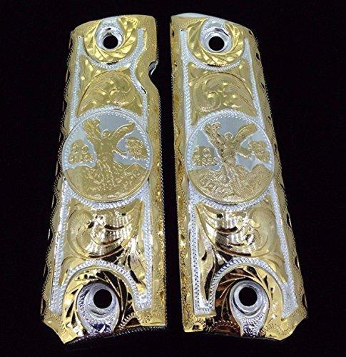 Blancas Jewelry 1911 Government Commander Gun Grips Centenario Cachas