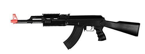 UKARMS AK-47 AEG SemiFull Auto Electric Airsoft Rifle Gun High Capacity Magazine FPS 150