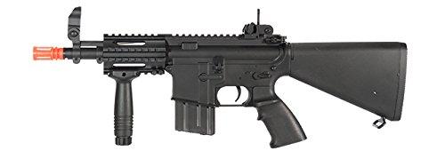 A&K BUIS Stubby M4 CQB-04 AEG Airsoft Gun Black
