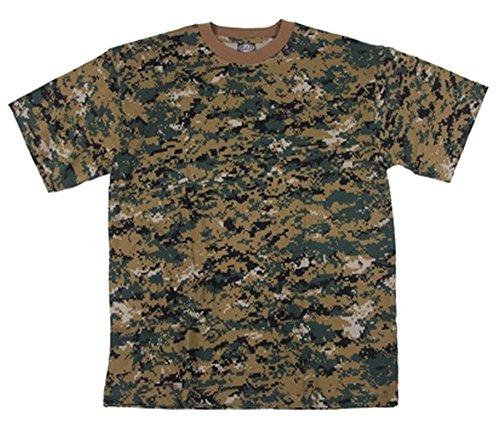 Marines Marpat Army T-Shirt Digital Woodland Camo SIZE XXXL by Camo Outdoor