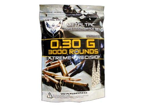 MetalTac Airsoft BBs Bag of 3000 03g 6mm BBs Pellet Sniper Round for Airsoft Gun