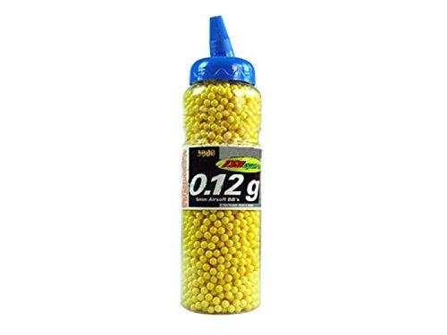 TSD Sports 3000 ct Jar Plastic Yellow Airsoft BBs 6mm 012g