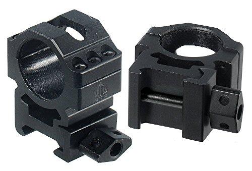 UTG 12PCs Med Pro Max Strength Picatinny Rings 25mm Wide