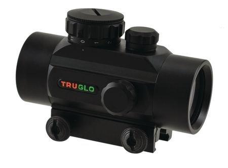 TruGlo Red Dot Sight Non-Enhanced 1x30mm 5 MOA Reticle Matte