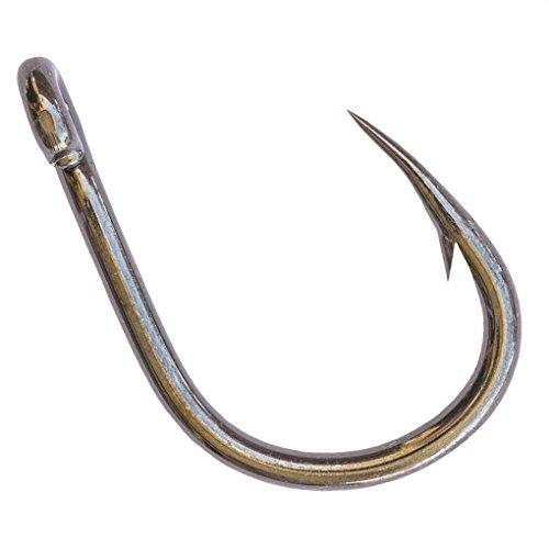 Mustad Ultra-Point 5X strong 10814NP-BN HOODLUM Live Bait Hook 100 6 Hooks