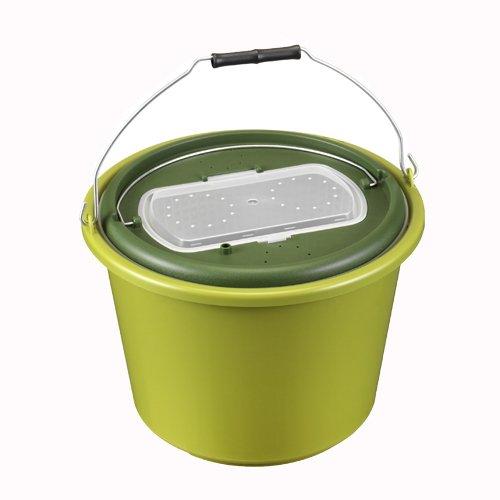 PANARO 11612 Live Bait Bucket Olive Green