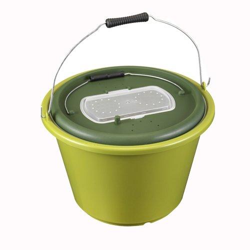 PANARO 11618 Live Bait Bucket Olive Green