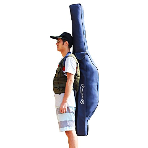 Sougayilang Blue Fishing Tackle Storage Bag 17m558ft