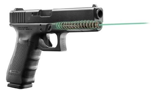 LaserMax Guide Rod Green Laser Sight for Glock 22 35 Pistols Fits Gen 4 only - LMS-G4-22G