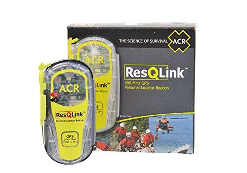 ACR ResQlink Non-Buoyant PLB - Programmed for US Registration