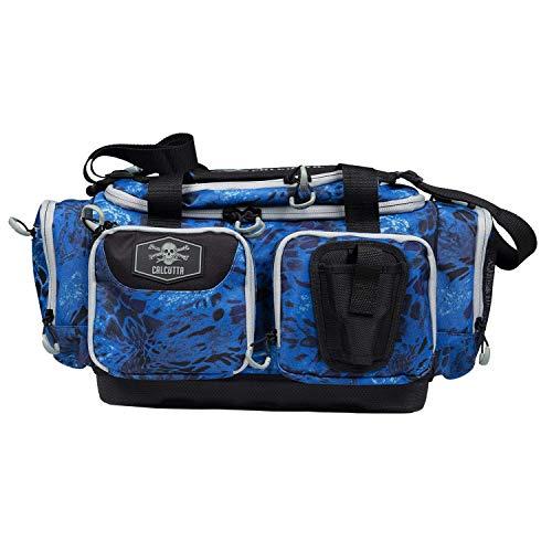 Calcutta Squall 3700 Tackle Bag with Bait Binder Combo - Fishing Storage Gear Organizer