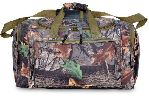 30 Explorer Wildland -Mossy Oak Realtree Like- Hunting Camo Heavy Duty Duffel Bag - Luggage Travel Gear Bag- Adjustable Heavy Stitched Shoulder Strap