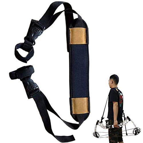 Toparchery Compound Bow Sling Bag Straps Belt Case Cover Holder Wrapper Holster Hunting Tool Backpack Bag String