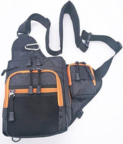Fishing Tackle Storage Bag BackpackInnoFun Lure bait Storage BagsShoulder BagCrossbody BagMessenger Bag